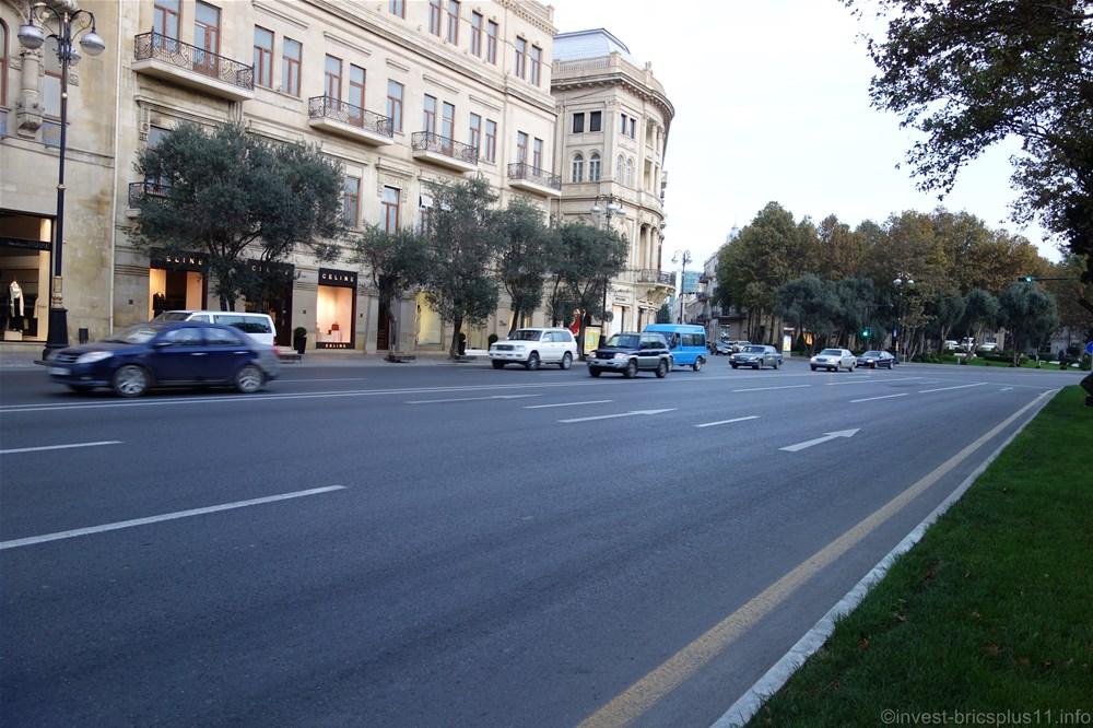 アゼルバイジャン、バクー市内