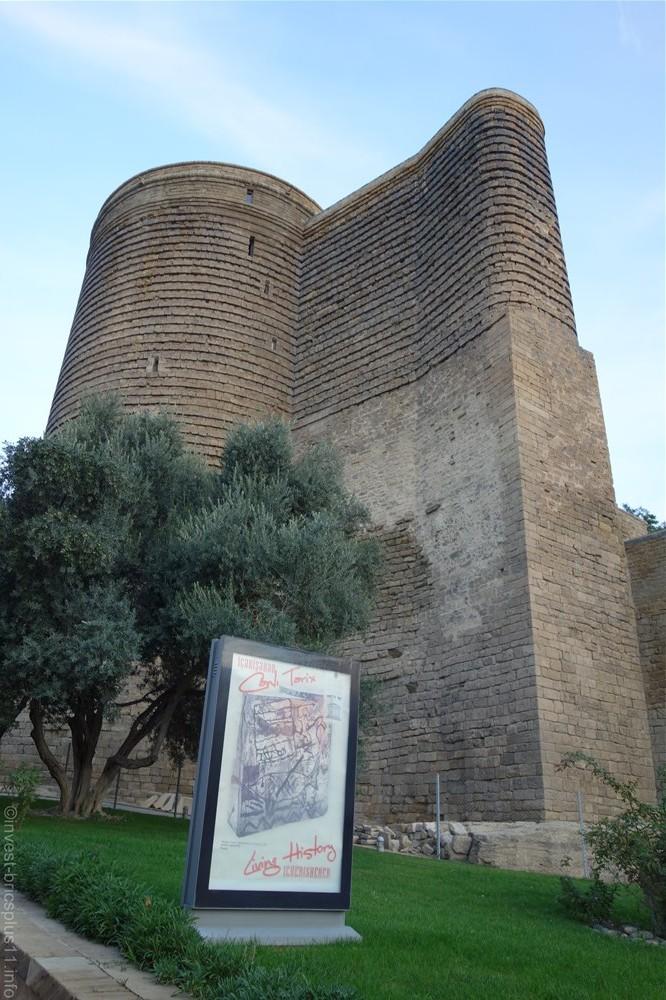 アゼルバイジャンの世界遺産乙女の塔(azerbaijan Maiden tower)