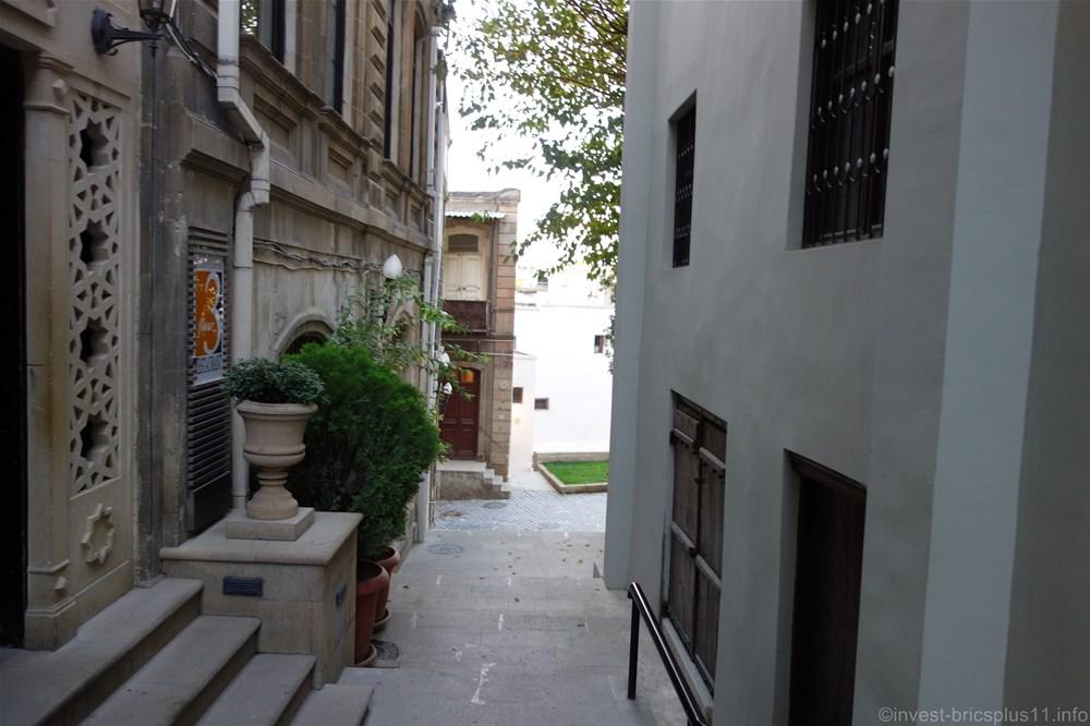 アゼルバイジャンの世界遺産バクー旧市街(azerbaijan old city)