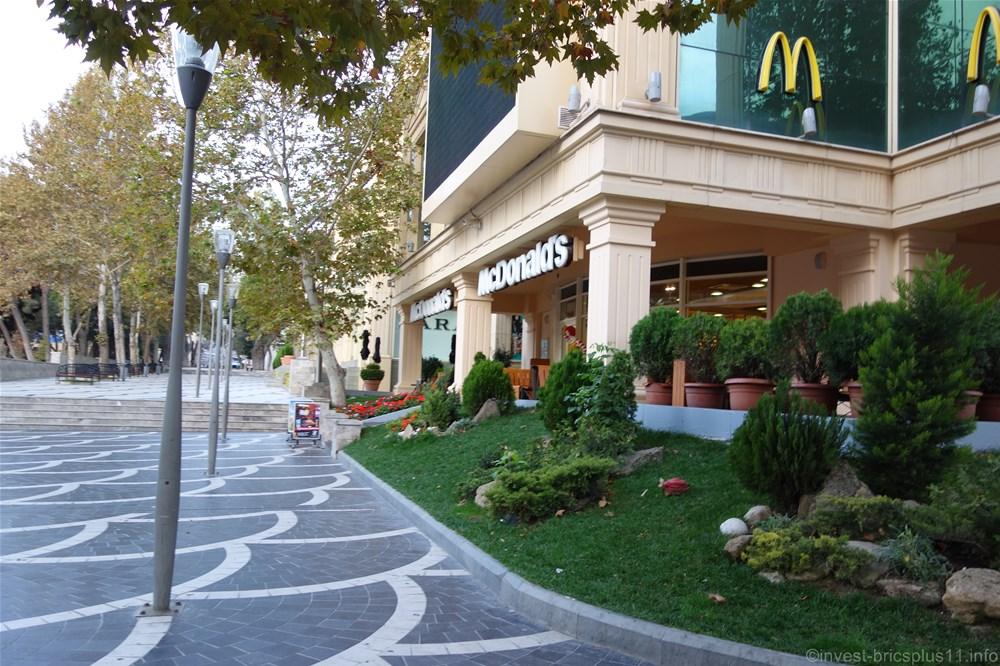 アゼルバイジャンのマクドナルド