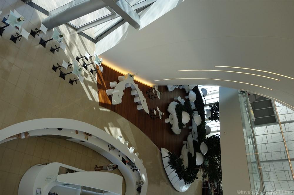 アゼルバイジャンのヘイダル・アリエフ・センター内の様子その6