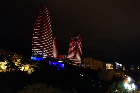 アゼルバイジャン フレームタワーズ(flame towers)